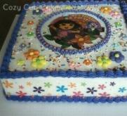 Character Sheet Cake