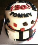 Deck of Cards Birthday Cake