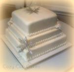 Elegant Bridal Shower Cake