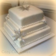 Elegant Bridal Shower Cake