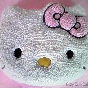 Old School Hello Kitty Cake